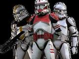 Armadura de soldado clon Fase II