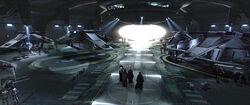 Hangares del Templo Jedi