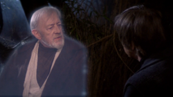 Kenobi and Luke Chatting