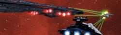 SW 50 Executor and Willard ship