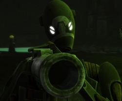 Unidentified BX-series droid commando (Dathomir)