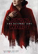 Carrie Fisher General Leia Organa Los Últimos Jedi Poster Teaser