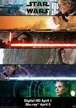 Force Awakens Promotional Blu-ray ad