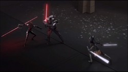 Ahsoka vs Inquisitors
