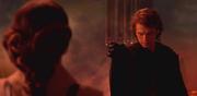 Anakin ahorca a Padmé