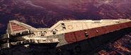 Crucero en la Batalla de Coruscant