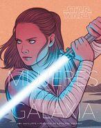 Star Wars Mujeres de la Galaxia portada