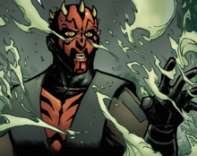 Maul Speaks to Talzin Smoke