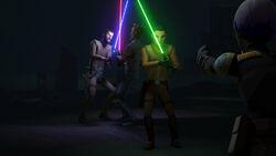 Skirmish at Nightsister Lair