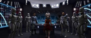 Ahsoka y Tropas de la Legion 501