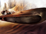 Deslizador terrestre X-34/Leyendas