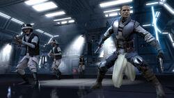 Marek guiando a rebeldes