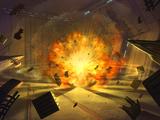 Bombardeo al hangar del Templo Jedi