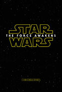 The Force Awakens Announcement Poster