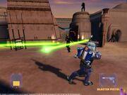 Jango en Tatooine de Cacería
