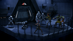 Rebels Fight into Spire
