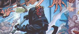 Darth Maul vs Sol Negro