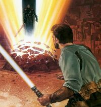 Katarn preparing to Battle Jerec