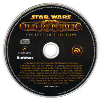 SWTOR soundtrack CD