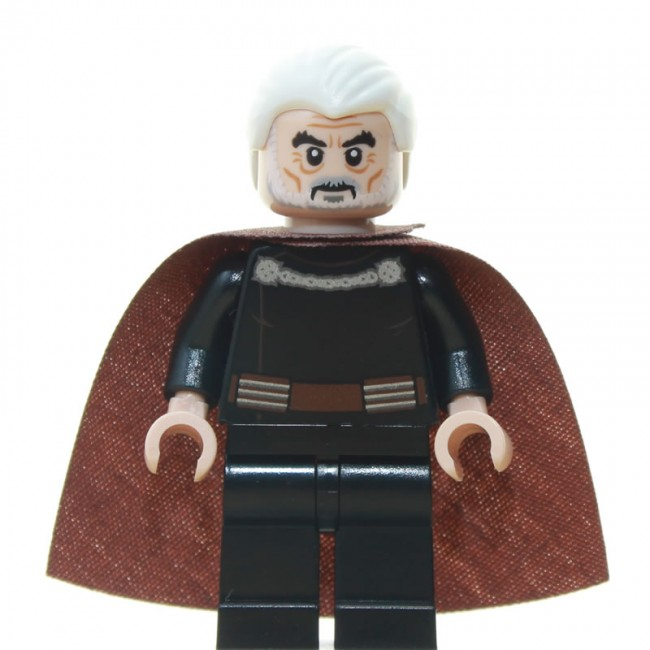Lego 1 carne Minifigura Reversible cabeza Chico Hombre Star Wars Naboo Soldier