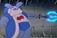 Snow king scepter