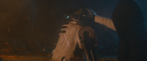 Luke with R2-D2 Vision