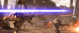 Battle droids attack