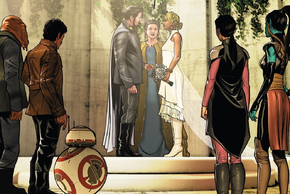 Karé Kun and Temmin Wexley wedding ceremony