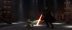 Yoda Tyranus duel
