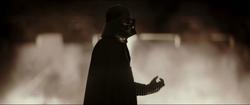 Vader forve choking Krennic
