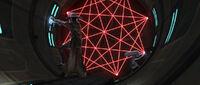 Bane laser gate