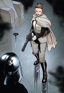 Darth Vader meets Sabé