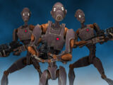 Droide comando serie BX/Leyendas
