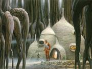 Concepto artístico de la Choza de Yoda