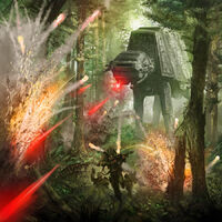 AT-AT barrage by Barger