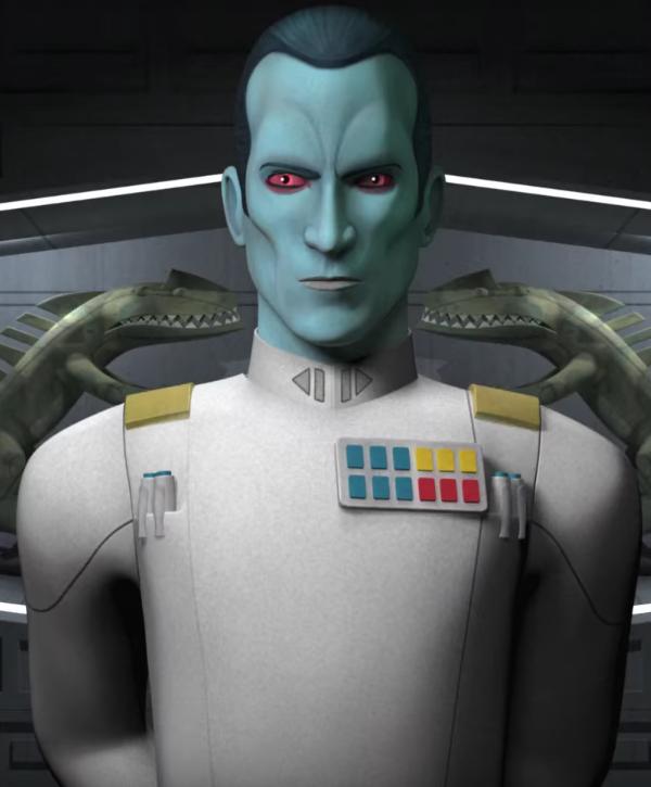 Resultado de imagen de almirante thrawn