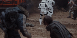 Caysin Bog during Jedha skirmish