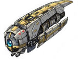 Nave patrulla droide Monitor YQ-400