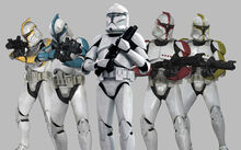 Clone Troopers Phase I