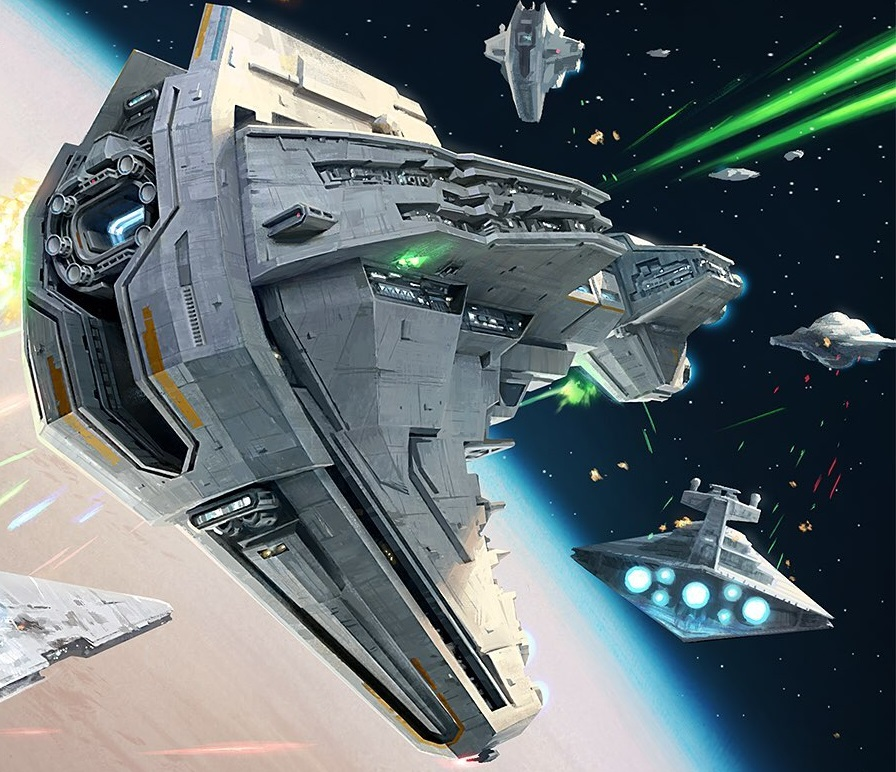 Star Wars Empire at War – FOC Alliance – Starhawk