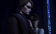Anakin y Shmi