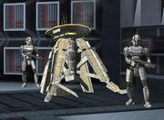 Probot under guard
