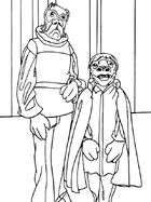 Treva and Wiorkettle coloring book