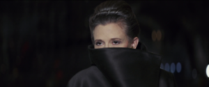 Leia on Crait