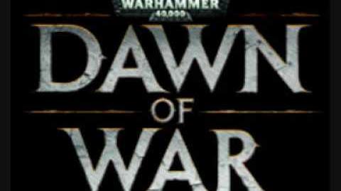 Dawn of War blood ravens approach (music)