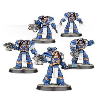 Exterminadores Cataphractii Ultramarines Calth