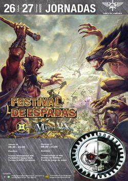 Festival de Espadas 2016 Barcelona torneo warhammer
