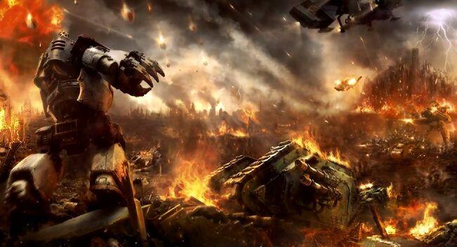 Betrayal Istvaan III Warhammer 40k Heresy Wikihammer Herejía Horus