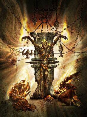 El ardiente Burning one 40k warhammer 40k wikihammer