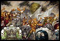 Emperador primarcas nombramiento horus
